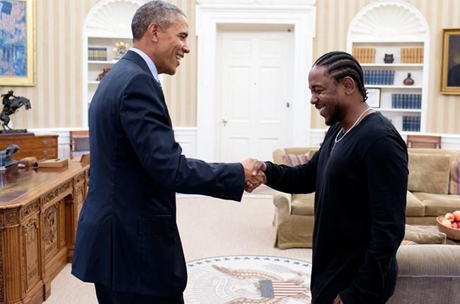 Hip Hop kann politisch sein. Allen voran setzt sich der Rapper Kendrick Lamar gegen Rassismus ein, und hat es bis ins Oval Office von Ex-US-Präsident Barack Obama geschafft . Fotocredit: Top Dawg Entertainemt