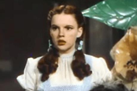 Judy Garland 1939 als Dorothy im Film Der Zauberer von Oz