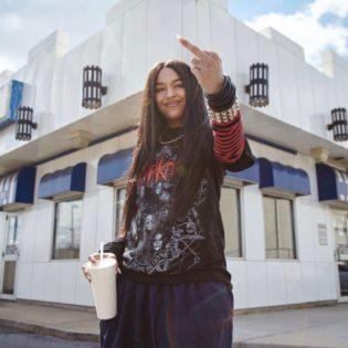 Die Rapperin Princess Nokia steht für Hip Hop und Emanzipation. Fotocredit: Rough Trade Records