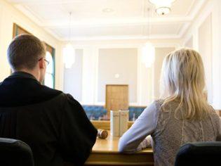 Der Blick von der Richterbank | Foto: dpa